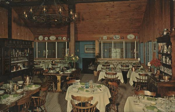 Country Restaurant Williamstown MA Postcard