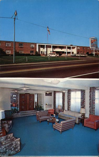 Town & Country Motor Hotel Cuyahoga Falls Ohio