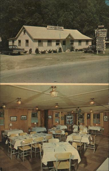 Mrs Bacon 39 S Cold Spring Restaurant Williamstown MA Postcard