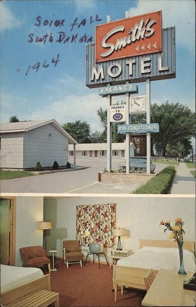 Smith's Uptown Motel Sioux Falls South Dakota