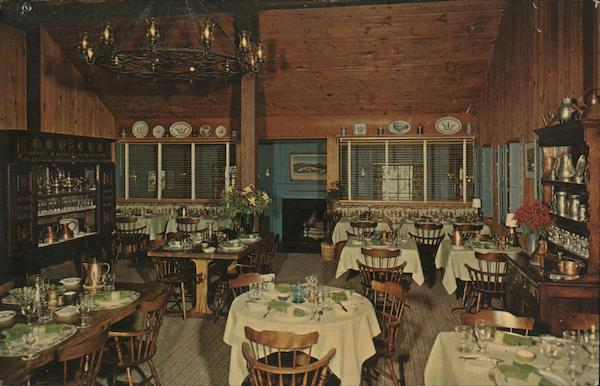 Country Restaurant And Shop Williamstown MA Postcard