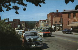 Main Business Thoroughfare Postcard