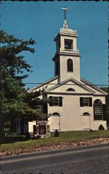 The Center Meeting House Postcard