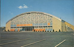 John F. Kennedy Memorial Coliseum Postcard