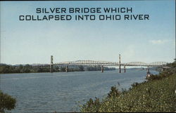 Silver Bridge Which Collapsed into Ohio River