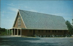 St. Theresa's Catholic Church Postcard