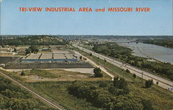 Tri-View Industrial Area and Missouri River