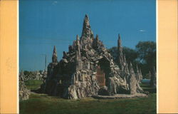 Castle - Petrified Wood Park Postcard