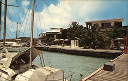 Christiansted Harbor Postcard
