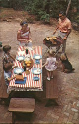 1950's Family BBQ