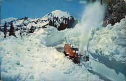 Snow Plow in the Cascades