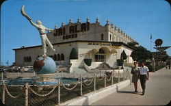 The Fronton Palace Postcard
