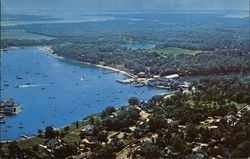 Aerial View of Shelter Island