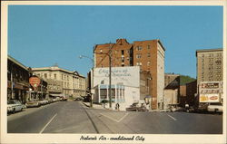 Intersecton of Bland and Federal Streets Postcard