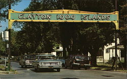 Entrance to Resort Village - 1000 Islands