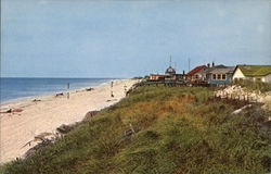 Beach at Cherry Grove Postcard