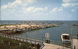 Sailors Haven Marina, Fire Island National Seashore Postcard