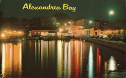 Night View of Alexandria Bay