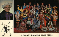 Spokane's Dancing Silver Spurs