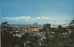 Pacific City with Haystack in the Background