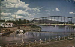 Bridge Spanning Chena River