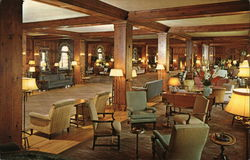 "The Pine Room, Skytop Club, ""Secluded in the Poconos"""