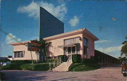 The Towne Motel Postcard
