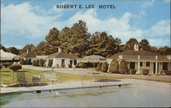Robert E. Lee Motel Postcard