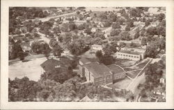 Public School As It Is Seen From The Air Postcard
