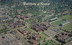 Aerial View of University of Oregon