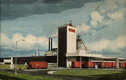 The Owens-Corning Fiberglass Plant Postcard