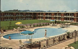 Pool Area, Holiday Inn, 175 - Juliette Rd.