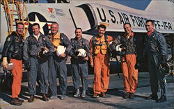 The original 7 astronauts selected by NASA
