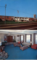 Town & Country Motor Hotel Postcard