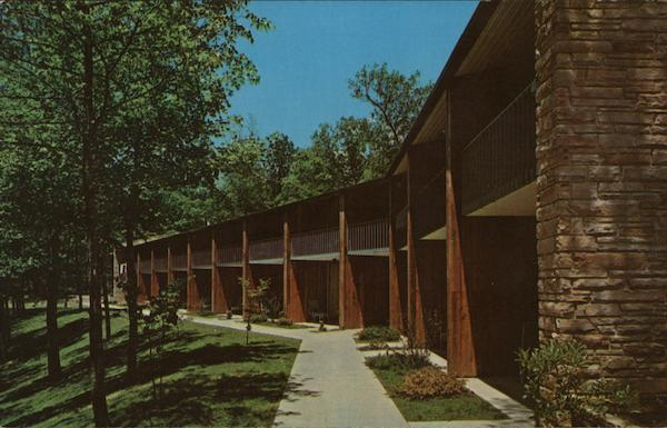 Rear View of Lodge, Pennyrile Forest State Resort Park Dawson Springs Kentucky
