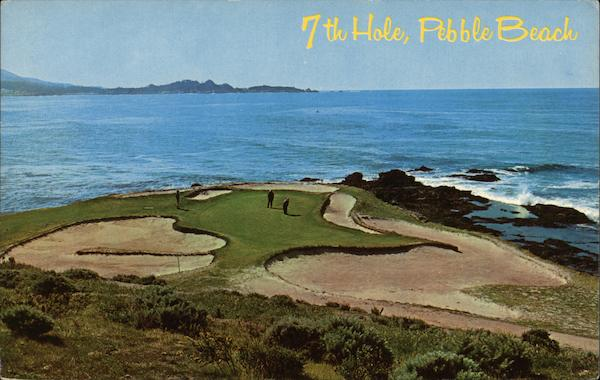 7th Hole, Pebble Beach Golf Course California Louis Roberts