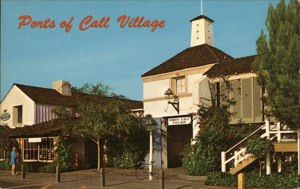 Ports of Call Village San Pedro California