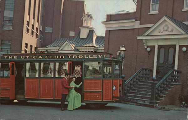 The Utica Club Trolley New York