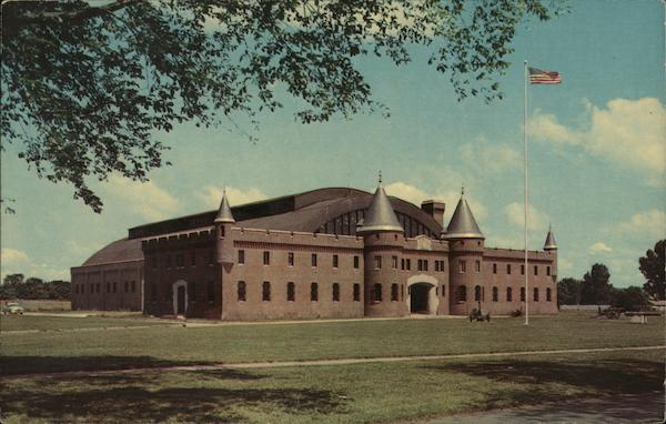 National Guard Armory Utica New York A. Marlo