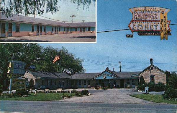 Boulevard Gardens Motel Court Tonawanda New York