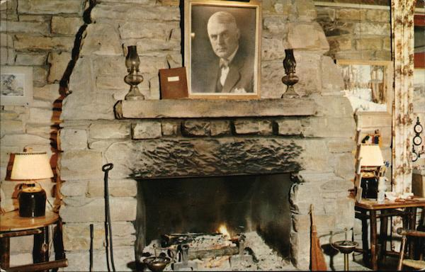 Brown County State Park - Abe Martin Lodge, Fireplace Nashville Indiana