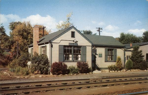 West Shore Railroad Station Blauvelt New York