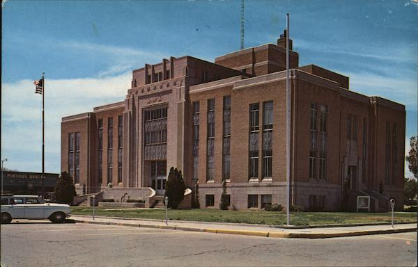 Roosevelt County Court House Portales New Mexico Gene Aiken