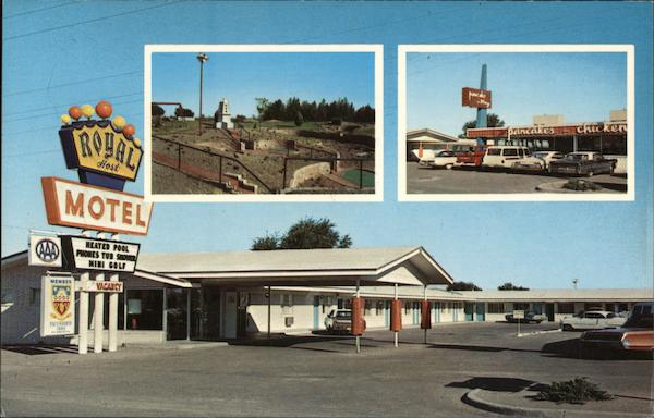 Royal Host Motel Las Cruces New Mexico
