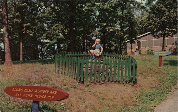Little Miss Muffet, Enchanted Trail, Santa Claus Land Indiana