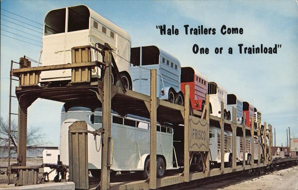 Hale Trailers Come One or a Trainload Advertising