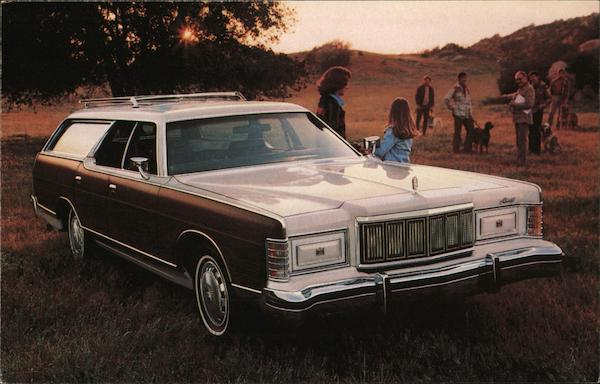 1978 Marquis Colony Park Wagon Cars