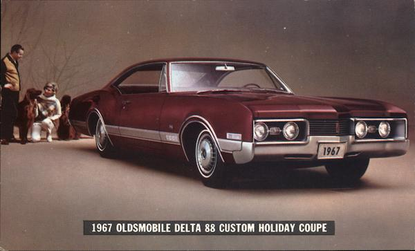 1967 Oldsmobile Delta 88 Custom Holiday Coupe Cars
