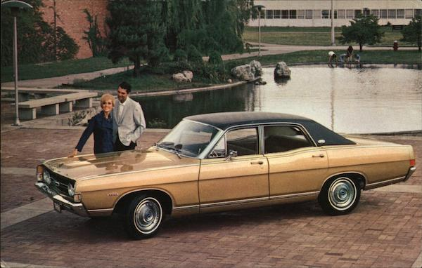 1968 Torino Four Door Sedan Cars