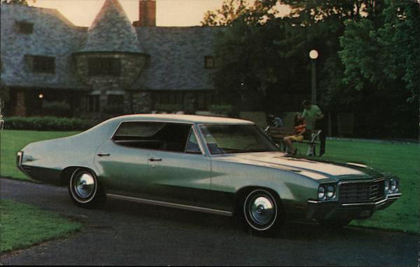 1970 Buick Skylark Custom 4-Door Hardtop Cars